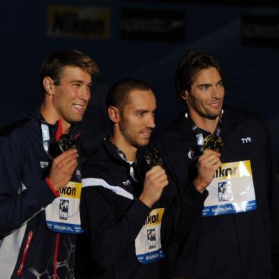 04AGOSTO2013 Clausura y medalla de plata de Mireia Belmonte. Ceremonia 50m espalda. Foto: Manel Martin.
