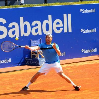 28ABRIL2013 Open Banc Sabadell -61º Trofeo Conde de Godó. Albert Montañes. Foto: Montse Carreño.