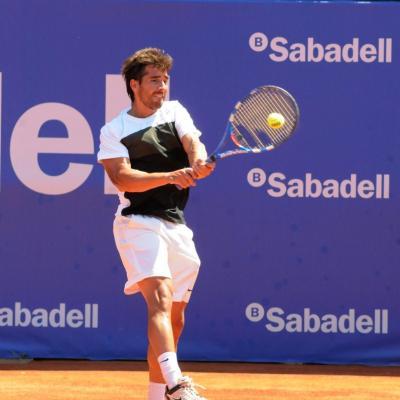 28ABRIL2013 Open Banc Sabadell -61º Trofeo Conde de Godó. Marc López. Foto: Montse Carreño.