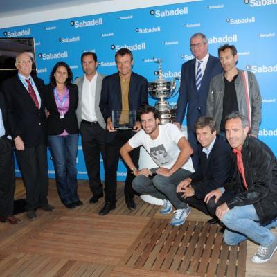 28ABRIL2013 Open Banc Sabadell -61º Trofeo Conde de Godó. Homenaje a Mats Wilander. Foto: Montse Carreño.