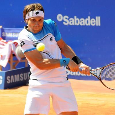 28ABRIL2013 Open Banc Sabadell -61º Trofeo Conde de Godó. David Ferrer.  Foto: Montse Carreño.