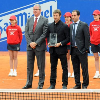28ABRIL2013 Open Banc Sabadell -61º Trofeo Conde de Godó. Homenaje a Juan Carlos Ferrero. Foto: Montse Carreño.
