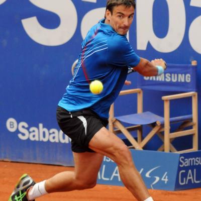 28ABRIL2013 Open Banc Sabadell -61º Trofeo Conde de Godó. Tommy Robredo. Foto: Montse Carreño.