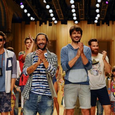 01JULIO2014 Desfile Desigual en la 080 Barcelona Fashion Week. Foto: Montse Carreño.