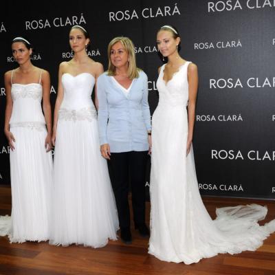 29ABRIL2013 Fitting Rosa Clará con su modelo, la rusa Dasha Kapustina. Foto: Montse Carreño.