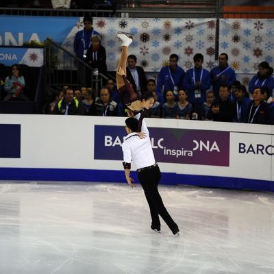 13DICIEMBRE2014 Final del ISU Grand Prix, en Barcelona. Foto: Montse Carreño.