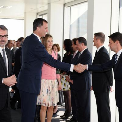 07ABRIL2014 Inauguración Torre Puig con los Príncipes. Foto: Montse Carreño.
