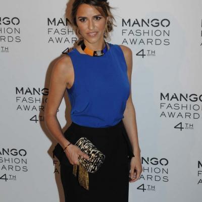 30MAYO2012 Entrega de la 4ª edición de los Mango Fashion Awards.Laura Vecino.  Foto: Montse Carreño.