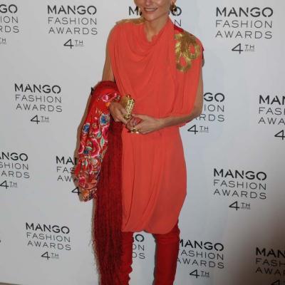 30MAYO2012 Entrega de la 4ª edición de los Mango Fashion Awards. Laura Ponte. Foto: Montse Carreño.