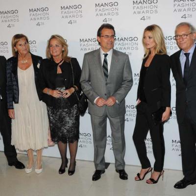 30MAYO2012 Entrega de la 4ª edición de los Mango Fashion Awards. Autorridades, Kate Moss y Isak Antic.  Foto: Montse Carreño.