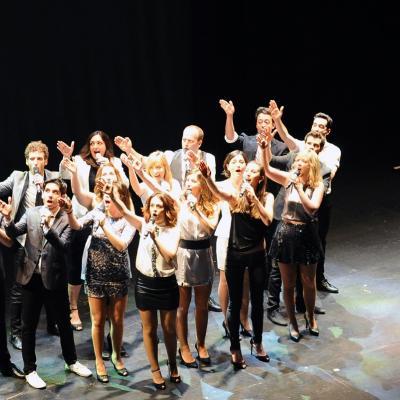"""15ABRIL2014 Concierto de presentación del grupo coral """"Deudeveu"""". Foto: Montse Carreño."""