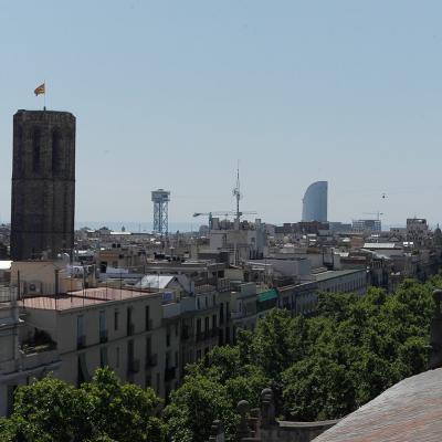17JUNIO2015 La terraza del hotel H1898 estrena nuevo mirador coincidiendo con el décimo aniversario. Foto: Montse Carreño.