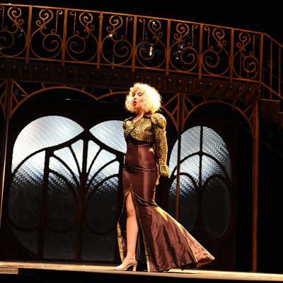 "15ENERO2018 Gisela en ""Rouge, Fantastic Love"", en el Teatre Apolo. Foto: Montse Carreño."