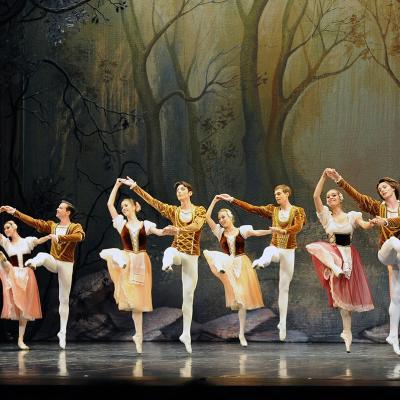 07AGOSTO2014 El Ballet de Moscú interpreta 'El lago de los cisnes'. Foto: Montse Carreño.