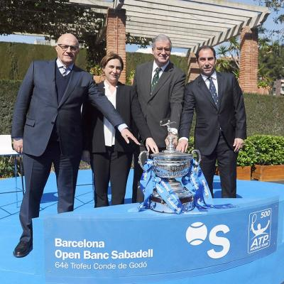04MARZO2016 Presentación del Barcelona Open Banc Sabadell-Trofeo Conde de Godó. Foto: Montse Carreño.