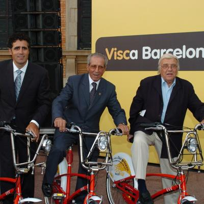08ABRIL2013 Muere el exciclista catalán Miquel Poblet. Foto: Manel Martin.