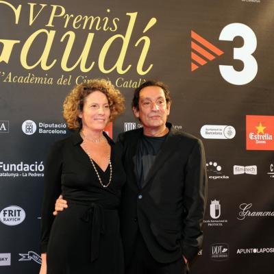 03FEBRERO2013 Gala de los Premios Gaudi de la Academia del Cine Catalán. Agustí Villalonga. Foto: Manel Martin.
