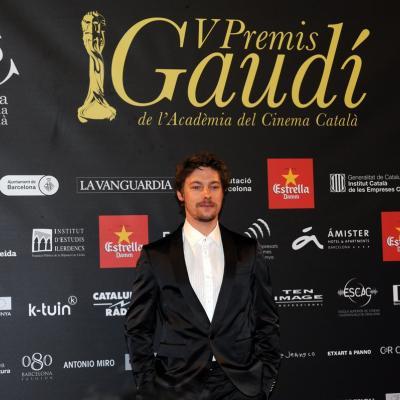 03FEBRERO2013 Gala de los Premios Gaudi de la Academia del Cine Catalán. Jan Cornett. Foto: Manel Martin.