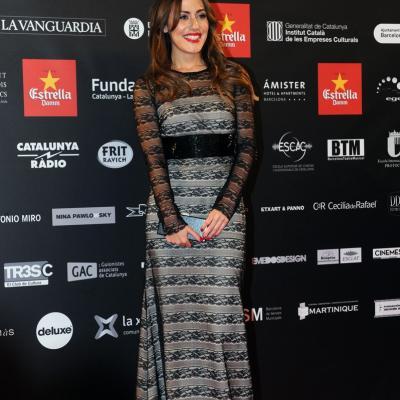 03FEBRERO2013 Gala de los Premios Gaudi de la Academia del Cine Catalán. Irene Montalá. Foto: Manel Martin.