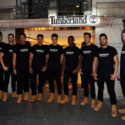10OCTUBRE2013 Inauguración tienda Timberland y 40 aniversario de la Yelow Boot. Foto: Manel Martin.