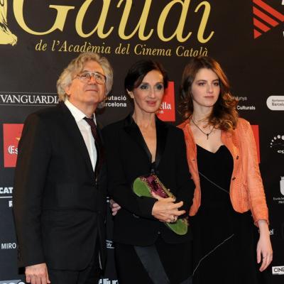 03FEBRERO2013 Gala de los Premios Gaudi de la Academia del Cine Catalán. Silvia Munt. Foto: Manel Martin.