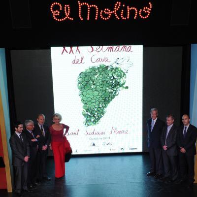 19SETIEMBRE2011 Presentación de la XXX Semana del cava en El Molino. Foto: Manel Martin.