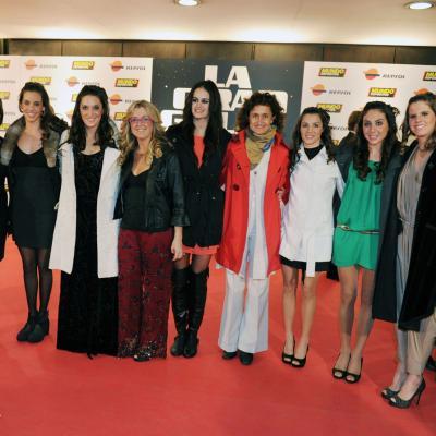 23ENERO2012 Entrega de los premios a los mejores deportistas españoles 2011. Las chicas de la sincronizada. Foto: Manel Martin.
