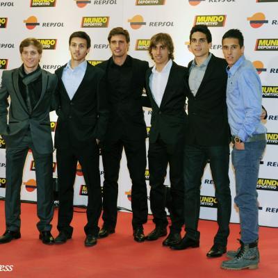 23ENERO2012 Entrega de los premios a los mejores deportistas españoles 2011.La cantera del F.C. Barça Foto: Manel Martin.