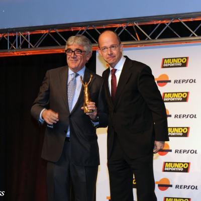 23ENERO2012 Entrega de los premios a los mejores deportistas españoles 2011. Daniel Sánchez Llibre. Foto: Manel Martin.