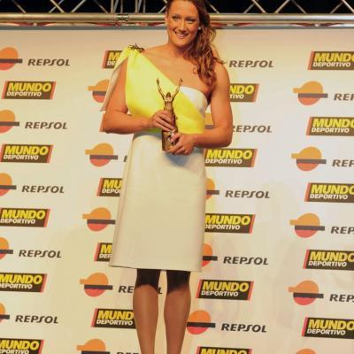 23ENERO2012 Entrega de los premios a los mejores deportistas españoles 2011. Mireia Belmonte.Foto: Manel Martin.