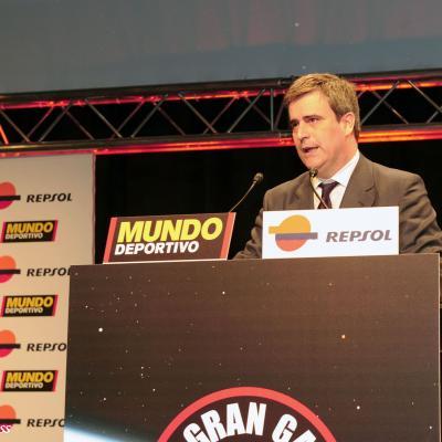 23ENERO2012 Entrega de los premios a los mejores deportistas españoles 2011. Miguel Cardenal. Foto: Manel Martin.