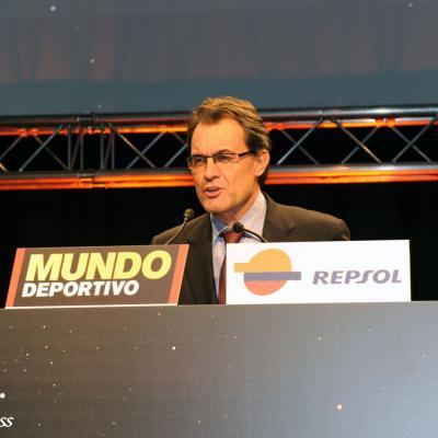 23ENERO2012 Entrega de los premios a los mejores deportistas españoles 2011. Artur Mas. Foto: Manel Martin.
