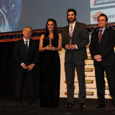 23ENERO2012 Entrega de los premios a los mejores deportistas españoles 2011. Foto: Manel Martin.