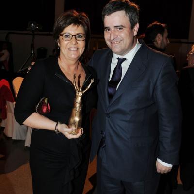 23ENERO2012 Entrega de los premios a los mejores deportistas españoles 2011. Maria Escario. Foto: Manel Martin.