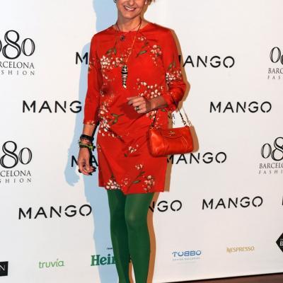 26ENERO2012 La nueva colección de la firma Mango para el próximo verano.Carla Royo-Villanueva. Foto: Manel Martin.