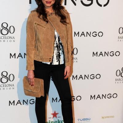 26ENERO2012 La nueva colección de la firma Mango para el próximo verano. Marisa Jara.Foto: Manel Martin.