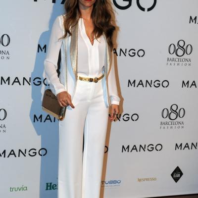 26ENERO2012 La nueva colección de la firma Mango para el próximo verano. Laura Vecino. Foto: Manel Martin.
