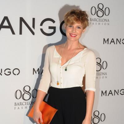 26ENERO2012 La nueva colección de la firma Mango para el próximo verano. Tania Llaseras. Foto: Manel Martin.