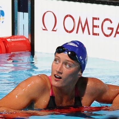 28JULIO2013 España, Francia, Estados Unidos y China protagonistas en el primer día de natación. Mireia Belmonte. Foto: Manel Martin.