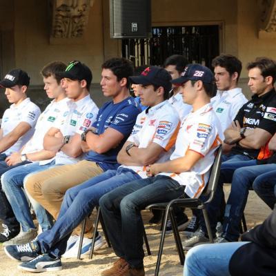 11JUNIO2913 Presentación del GP de Catalunya de Motociclismo. Foto: Manel Martin.