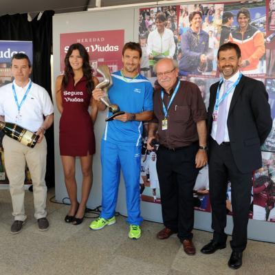 28ABRIL2013 Open Banc Sabadell -61º Trofeo Conde de Godó. Jugador 10 a Tommy Robredo. Foto: Manuel Martin.