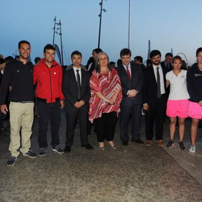 11MAYO2012 Inauguración del Campeonato del Mundo de Vela de la Clase 470. Foto: Manel Martin.