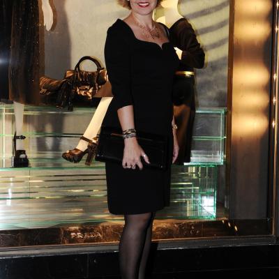 07NOVIEMBRE2013 Prada abre su primera flagship store en Barcelona.Rosa Tous.  Foto: Manel Martin.