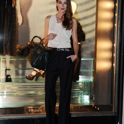 07NOVIEMBRE2013 Prada abre su primera flagship store en Barcelona. Marta Español. Foto: Manel Martin.