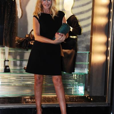 07NOVIEMBRE2013 Prada abre su primera flagship store en Barcelona. Bibiana Fernández.  Foto: Manel Martin.
