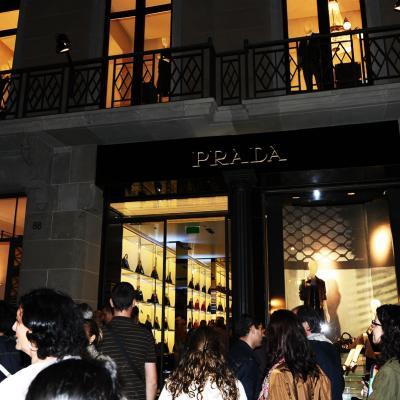07NOVIEMBRE2013 Prada abre su primera flagship store en Barcelona. Foto: Manel Martin.