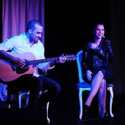 25ENERO2014 Chenoa en el Casino Barcelona. Foto: Manel Martin.