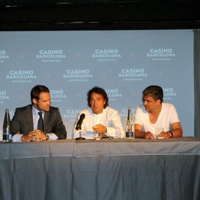 02JULIO2013 Presentación del Dîner en Blanc en Barcelona. Foto: Manel Martin.