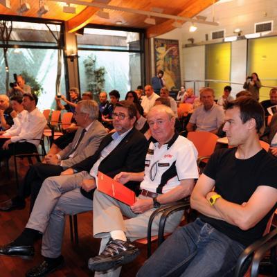 03JULIO2013 Presentación de las 24 horas de Catalunya de Motociclisme. Foto: Manel Martin.