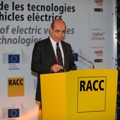 28FEBRERO2013 Presentación del nuevo vehículo eléctrico. Carles Grases. Foto: Manel Martin.